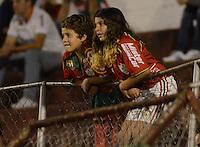 SAO PAULO SP, 09.11.2013 - Portuguesa X    Coritiba. Torcida  durante partida contra o Coritiba valida pelo campeonato brasileiro de 2013 no Estadio do Caninde em  Sao Paulo, neste sabado ,09. (FOTO: ALAN MORICI / BRAZIL PHOTO PRESS).