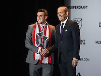 BaBaltimore, MD - January 14, 2015: Major League Soccer (MLS) held the 2016 SuperDraft at the Baltimore Convention Center.