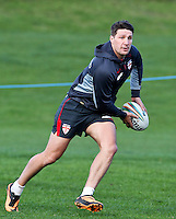 Picture by Alex Whitehead/SWpix.com - 30/10/2013 - Rugby League - Rugby League World Cup - England Training - Loughborough, England - Gareth Widdop.