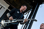 Volbeat playing Pointfest, May 2013 at Verizon Wireless Amphitheater, St. Louis MO.