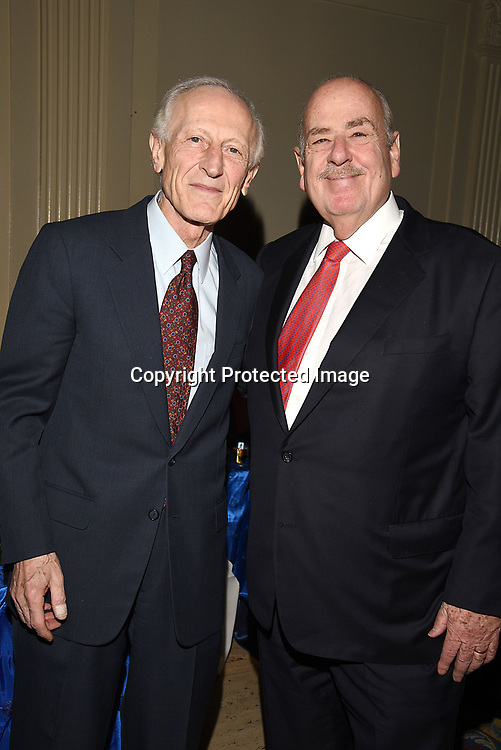 Dr Soghoian and Marty Halbfinger attends the Columbia Grammar & Prep School 2017 Benefit on March 8, 2017 at Cipriani Wall Street in New York, New York.