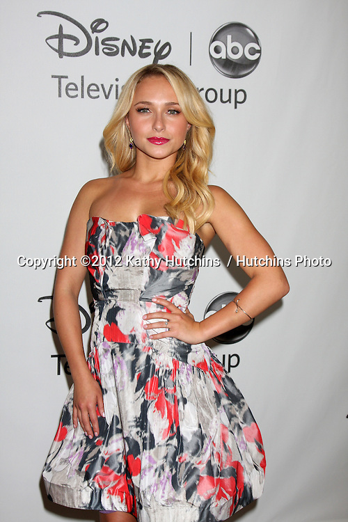 LOS ANGELES - JUL 27:  Hayden Panettiere arrives at the ABC TCA Party Summer 2012 at Beverly Hilton Hotel on July 27, 2012 in Beverly Hills, CA
