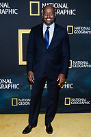 "NEW YORK CITY - MARCH 14: Astronaut Leland Melvin attends National Geographic's ""One Strange Rock"" screening and Q&A at Alice Tully Hall at Lincoln Center on March 14, 2018 in New York City. (Photo by Anthony Behar/NatGeo/PictureGroup)"