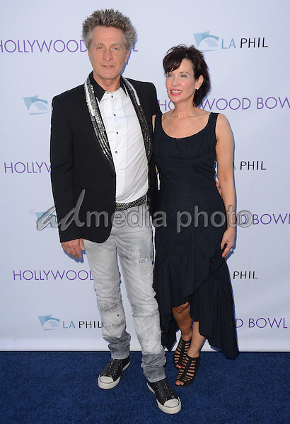 20 June 2015 - Hollywood, California - Ross Valory, Mary Valory. Hollywood Bowl opening night featuring Journey held at The Hollywood Bowl. Photo Credit: Birdie Thompson/AdMedia