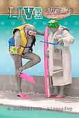 Samantha, NOTEBOOKS, paintings,+couple, fun,++++Poolside Nan and Pop master,AUKP32,#NB# Humor, lustig, divertido