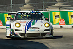 1 September 2007: The Team Trans Sport Porsche 911 GT3 RSR driven by Terry Borcheller (USA) and Tim Pappas (USA) at the Detroit Sports Car Challenge presented by Bosch, Detroit, MI