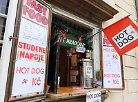 Hot Dog stand, Prague, Czech Republic on February 28th to March 3rd 2018<br /> CAP/ROS<br /> &copy;ROS/Capital Pictures