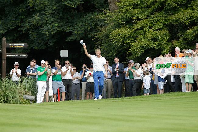 Mikko Ilonen (FIN) winner of the Irish Open at Fota Island on Sunday 22nd June 2014.<br /> Picture:  Thos Caffrey / www.golffile.ie