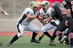 Palos Verdes, CA 11/10/11 - Joey Augello (Peninsula #58) in action during the Peninsula-Palos Verdes varsity football game.