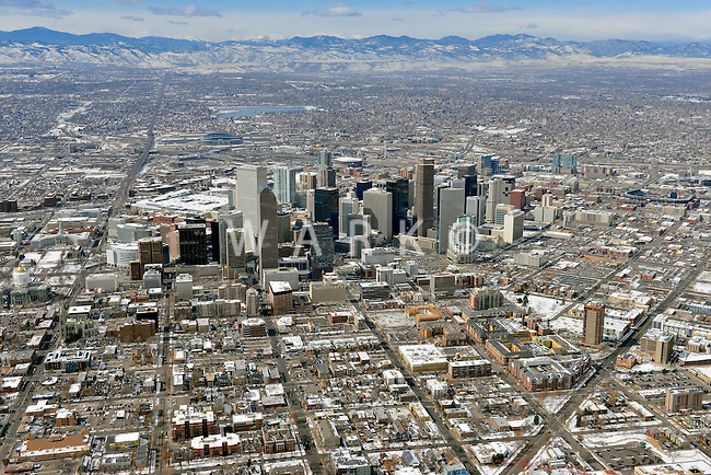 Denver skyline looking west. Feb 2013. 82231