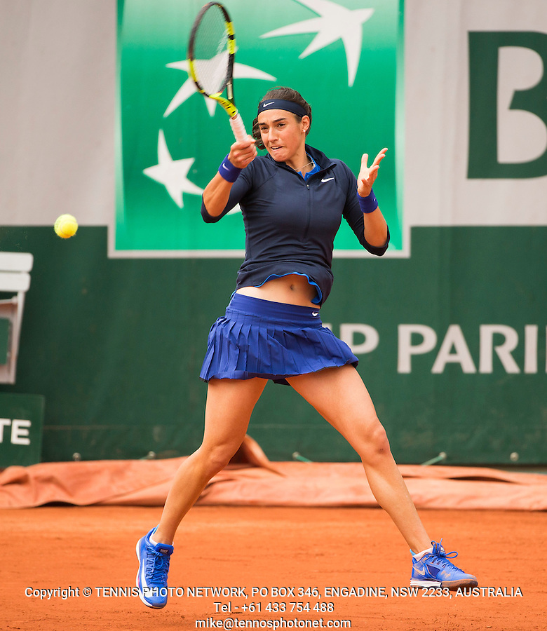 CAROLINE GARCIA (FRA)<br /> <br /> TENNIS - FRENCH OPEN - ROLAND GARROS - ATP - WTA - ITF - GRAND SLAM - CHAMPIONSHIPS - PARIS - FRANCE - 2016  <br /> <br /> <br /> &copy; TENNIS PHOTO NETWORK