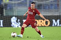 Jordan Veretout of AS Roma <br /> Roma 25-9-2019 Stadio Olimpico <br /> Football Serie A 2019/2020 <br /> AS Roma - Atalanta Bergamasca Calcio <br /> Foto Andrea Staccioli / Insidefoto