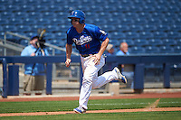 Tulsa Drillers second baseman Brandon Dixon (11) during a game against the Midland RockHounds on June 3, 2015 at Oneok Field in Tulsa, Oklahoma.  Midland defeated Tulsa 5-3.  (Mike Janes/Four Seam Images)