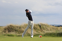 Martin Vorster (RSA) on the 16th tee during Round 4 of The East of Ireland Amateur Open Championship in Co. Louth Golf Club, Baltray on Monday 3rd June 2019.<br /> <br /> Picture:  Thos Caffrey / www.golffile.ie<br /> <br /> All photos usage must carry mandatory copyright credit (© Golffile | Thos Caffrey)