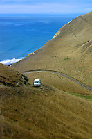 Approach to Cape Kidnappers, New Zealand
