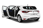 Car images close up view of a 2017 Renault Megane GT 5 Door Hatchback doors