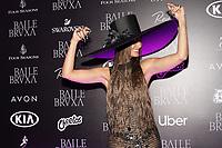 SAO PAULO, SP 31.10.2019 - BAILE-MARIE-CLAIRE - A atriz Camila Pitanga durante baile de halloween da Marie Claire, realizado no Four Seasons Hotel, na zona sul da cidade de Sao Paulo nesta quinta-feira, 31. (Foto: Felipe Ramos / Brazil PhotoPress)