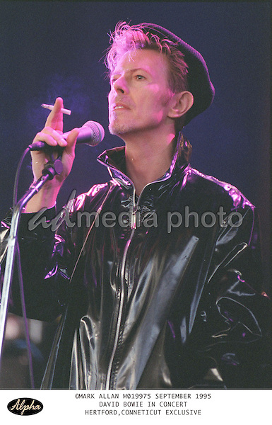 ©Alpha Press 15/9/95 DAVID BOWIE  CONCERT IN HERTFORD CONNETICUT EXCLUSIVE. Photo Credit: Alpha Press/AdMedia