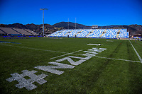 A general view of the stadium before the Rugby Championship Argentina Pumas captain's run at Trafalgar Park in Nelson, New Zealand on Friday, 7 September 2018. Photo: Dave Lintott / lintottphoto.co.nz