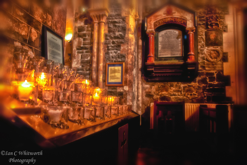Christ Church Cathedral Candles Dublin | Ian C Whitworth