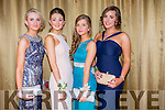 Attending the Castleisland Community College Debs at the Earl of Desmond Hotel on Friday night were  l-r  Katie Flynn, Elizabeth O'Connor, Michaela Donovan and Orla O'Connor.