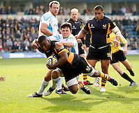Wasps v Warriors 20121007