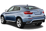 Rear three quarter view of a 2010 BMW Active Hybrid X6