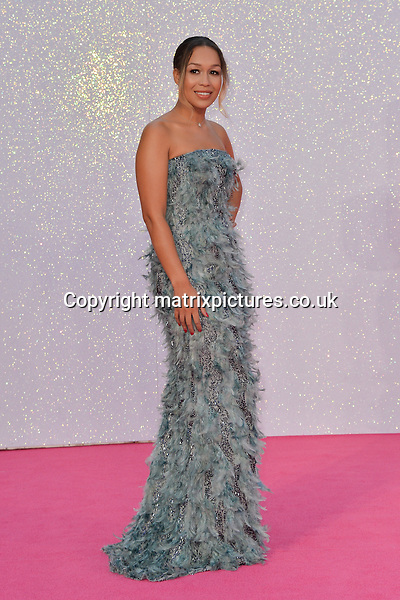 NON EXCLUSIVE PICTURE: MATRIXPICTURES.CO.UK<br /> PLEASE CREDIT ALL USES<br /> <br /> WORLD RIGHTS<br /> <br /> British singer-songwriter Rebecca Ferguson attends the world premiere of &quot;Bridget Jones's Baby&quot; at Leicester Square in London.<br /> <br /> SEPTEMBER 5th 2016<br /> <br /> REF: JWN 162864