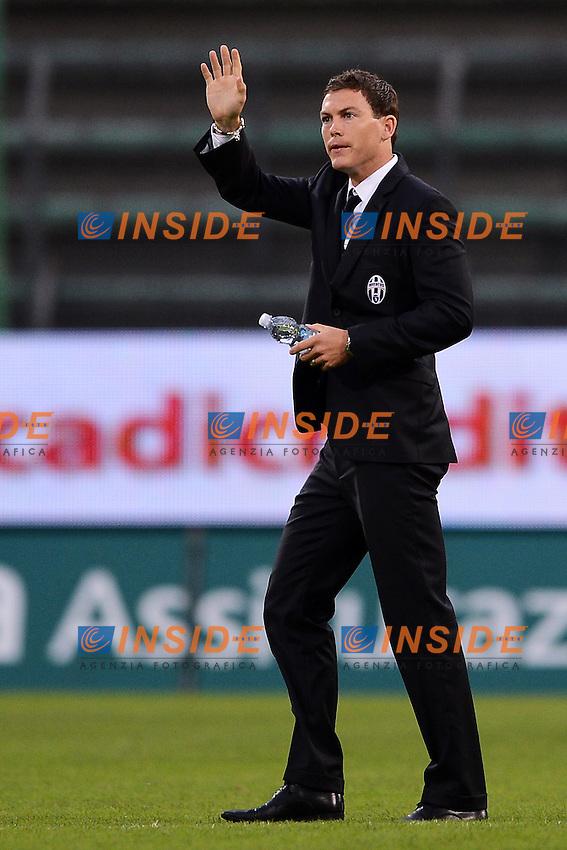 "Stephan Lichtsteiner Juventus.Trieste 06/05/2012 Stadio ""Nereo Rocco"".Football Calcio 2011/2012 Serie A.Cagliari Vs Juventus.Foto Insidefoto Andrea Staccioli"