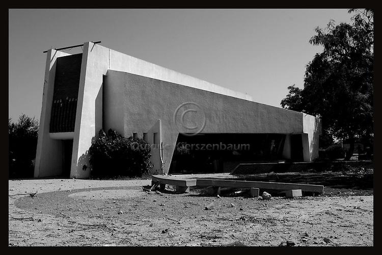 The Synagogue of Kfar Darom. Photo by Quique Kierszenbaum