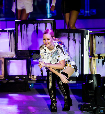 LAS VEGAS, NV - May 15, 2016: ***HOUSE COVERAGE*** Iggy Azalea performing at CBS Radio Presents: SPF at The Boulevard Pool at The Cosmopolitan of Las Vegas in Las vegas, NV on May 15, 2016. Credit: Erik Kabik Photography/ MediaPunch