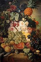 Europe/Belgique/Flandre/Province d'Anvers/Anvers : Le musée Mayer Van Den Bergh - Tableau de Jan Van Huysum