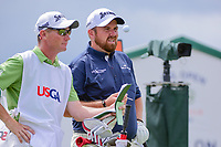 Shane Lowry (IRL) looks over his tee shot on 7 during Saturday's round 3 of the 117th U.S. Open, at Erin Hills, Erin, Wisconsin. 6/17/2017.<br /> Picture: Golffile | Ken Murray<br /> <br /> <br /> All photo usage must carry mandatory copyright credit (&copy; Golffile | Ken Murray)
