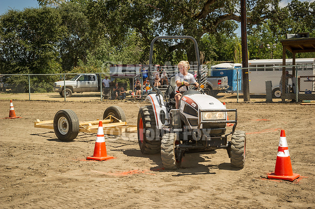 3rd day of the 76th Amador County Fair, Plymouth, Calif.<br /> <br /> Tractor Safety Rodeo