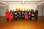 20/1/2015   (with compliments)  Attending the University of Limerick conferrings on Tuesday afternoon were back row from left Dr Brid O'Brien, MSC In Nursing Studies graduates Raj Jesny, Vinobaji Sreehari, Ramachandran Abhilish, Satheesh Sangeetha, Abraham Liju Eason, Shamsudeen Muhammed Rashid, Jose Jimmy, Fernandez Kevin Marcos, Unnikrishnan Soumya, Stanly Pereira Saleela and Patel Bhavika Rohitkumar.   And  Guy who brought them to Irl.  Front row from left were Dept of Nursing and Midwifery: Professor Catriona Kennedy, Margaret Graham, lecturer; Claire O Donnell, lecturer; Kathleen Markey, Course Director; Dr Pauleen O'Reilly, Head of Dept; Professor Alison Perry, Dean.<br /> Picture Liam Burke/Press 22