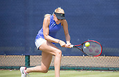 June 14th 2017, Nottingham, England; WTA Aegon Nottingham Open Tennis Tournament day 5;  Backhand from Donna Vekic of Croatia against Julia Boserup of USA
