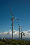 Wind Turbine, Tenerife, Canary Islands, Spain