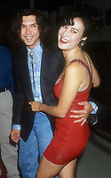 Lou Diamond Phillips, Jennifer Tilly, 1992, Photo By Michael Ferguson/PHOTOlink