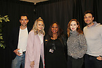 The Young and The Restless actors Jason Thompson, Melissa Ordeay, Kandiss (banquets), Camryn Grimes, Daniel Goddard came together on February 16, 2019 for a fan q & a, meet and great with autographs and photo taking hosted by Soap Opera Festival's Joyce Becker at the Hollywood Casino in Columbus, Ohio. (Photos by Sue Coflin/Max Photos)
