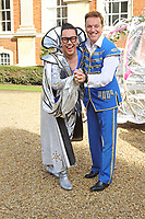 Brian Conley and Gok Wan attend the Milton Keynes Theatre Cinderella Pantomime Press Launch at Chicheley Hall, Newport Pagnell, Bucks Brian Conley stars as 'Buttons', Gok Wan as 'The Fairy Gokmother' and Lauren Hall as 'Cinderella'. Pictured on Sunday October 8th 2017<br /> CAP/ROS<br /> &copy; Steve Ross/Capital Pictures