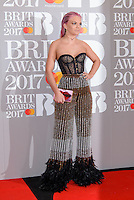 www.acepixs.com<br /> <br /> February 22 2017, London<br /> <br /> Louisa Johnson arriving at The BRIT Awards 2017 at The O2 Arena on February 22, 2017 in London, England.<br /> <br /> By Line: Famous/ACE Pictures<br /> <br /> <br /> ACE Pictures Inc<br /> Tel: 6467670430<br /> Email: info@acepixs.com<br /> www.acepixs.com