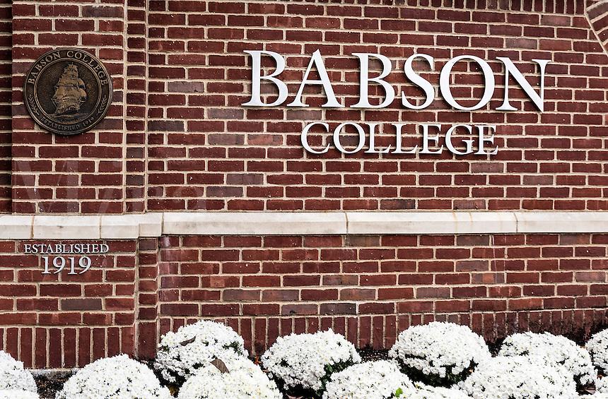 Babson College, Wellesley, Massachusetts, USA.