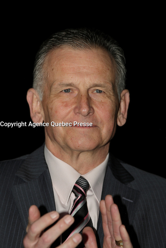 Montreal, CANADA, March 16, 2015 -<br /> <br /> Senator Larry Smith<br /> <br /> <br /> Photo : Agence Quebec Presse - Pierre Roussel