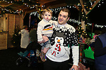 Celtic Manor Resort Christmas Kingdom 2014<br /> Steven &amp; Harrison Cleverly<br /> 29.11.14<br /> &copy;Steve Pope -FOTOWALES