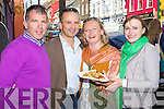 Enjoying Dingle Food festival on Saturday were from left: Seanie Gleasure, John Conneely, Louise O'Donnell and Kathleen Gleasure.