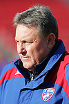 19 November 2010: John Ellinger, Assistant Coach of FC Dallas.   FC Dallas held a practice at Toronto, Ontario, Canada as part of their preparations for MLS Cup 2010, Major League Soccer's championship game.