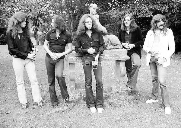 Deep Purple performing in 1973.  Credit: Ian Dickson/MediaPunch