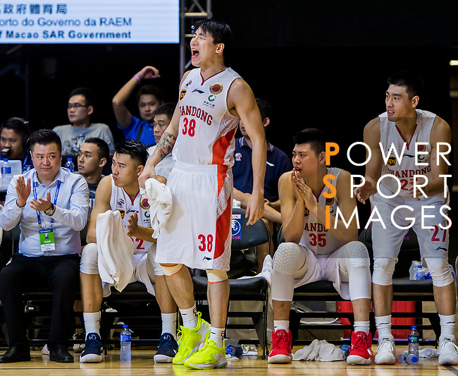 Shandong Xiwang vs Fubon Braves during The Asia League's 'The Terrific 12' at Studio City Event Center on 20 September 2018, in Macau, Macau. Photo by Marcio Rodrigo Machado / Power Sport Images for Asia League