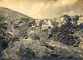 View of Rosh Pina, Upper Galilee, photographed 1912 by Leo Kann.