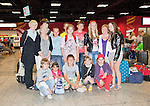 Chernobyl children Chernobyl children going to families in Mallow Co.Cork pictured after arriving from Chernobyl at Shannon Airport Picture Credit: Brian Gavin Press 22